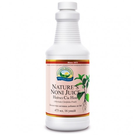 Нэйчез Сок Нони   Nature's Noni Juice