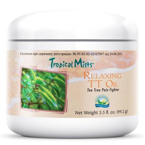 Обезболивающий крем «Расслабляющее масло чайного дерева» для мышц и суставов | RELAXING TT OIL
